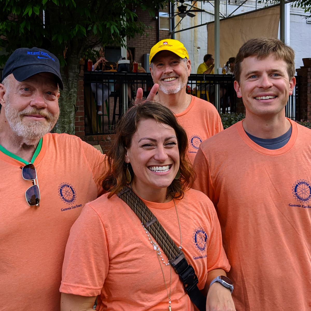 Gastonia East Rotary Volunteers